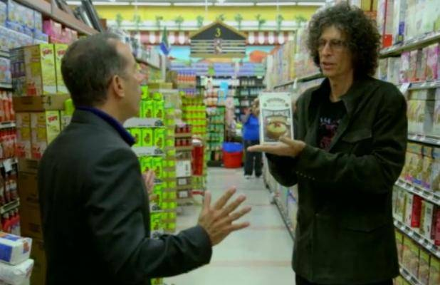 Howard Stern And George Costanza On Comedians In Cars Getting Coffee