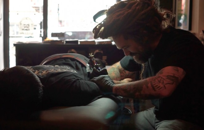 Meet Cat-Obsessed Tattoo Artist Knarly Gav