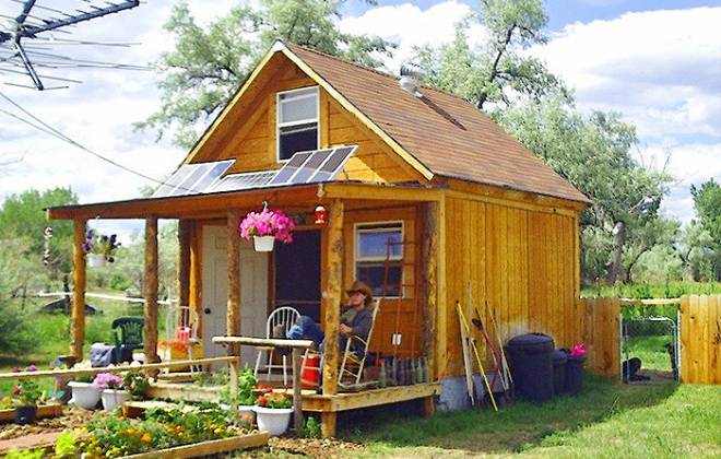 Build a 14x14 Solar Cabin For Under 2 Grand