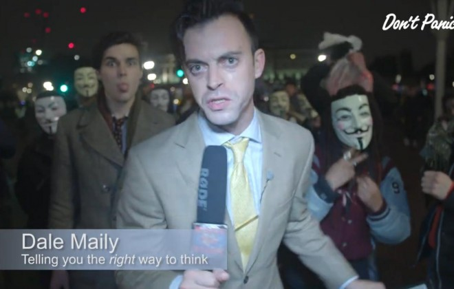Dale Maily Reports: The Million Mask March