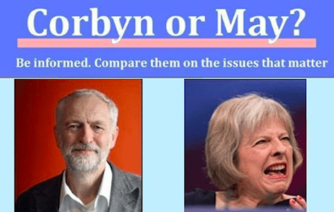 Best Of Corbyn Or May?