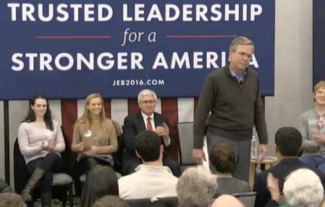 Jeb Bush Asks The American People: 'Please Clap'