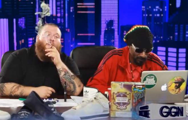 Snoop And Action Bronson Hanging Out