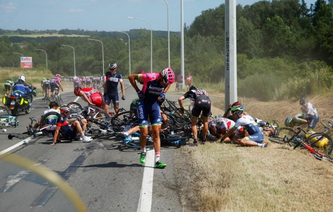 Epic Crash Proves Tour De France Is TOO Gnarly