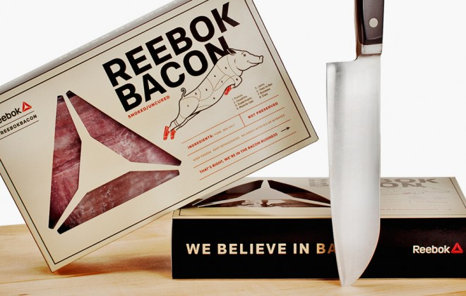 Reebok Has Made A Line Of Bacon