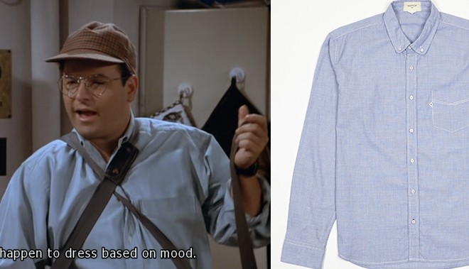 The Great Divide's Seinfeld Fashion Tribute