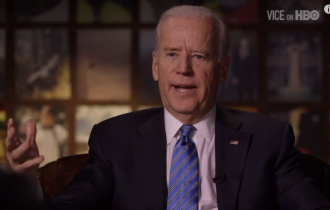 Joe Biden Talks Climate Change With VICE