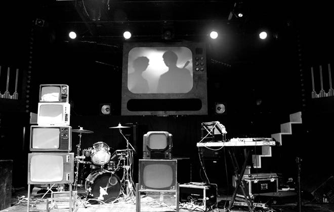 At Home & on the Road with Public Service Broadcasting