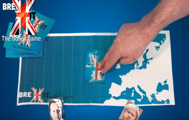 Play The Brexit Board Game!