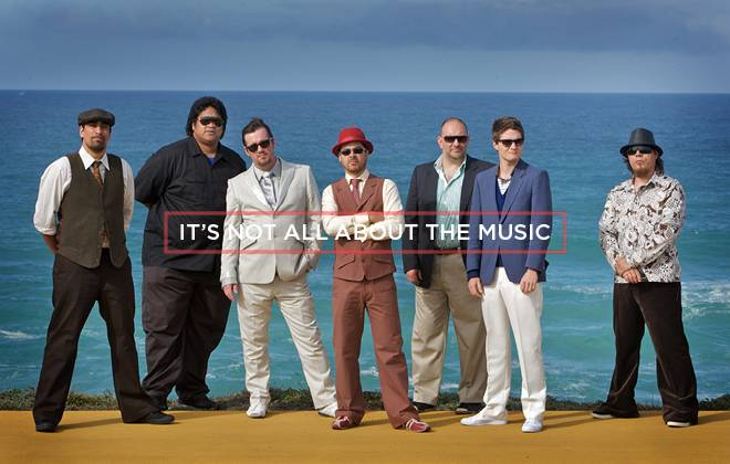 Its not all about the music: Fat Freddy's Drop