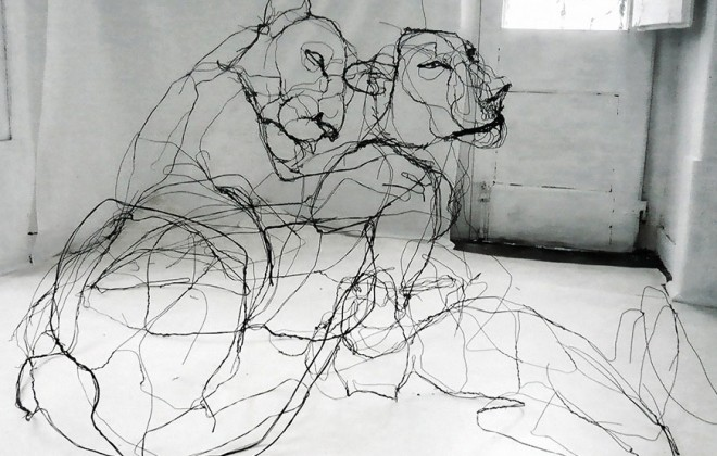 David Oliveira's Amazing Wire Sculptures