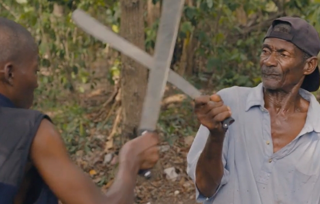 Machete Fencing & Subsistence Farming In Contemporary Haiti