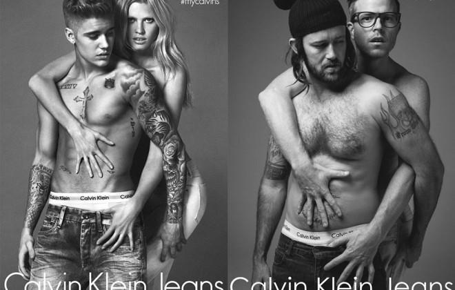 Justin Bieber's Calvin Klein Ads, Reimagined