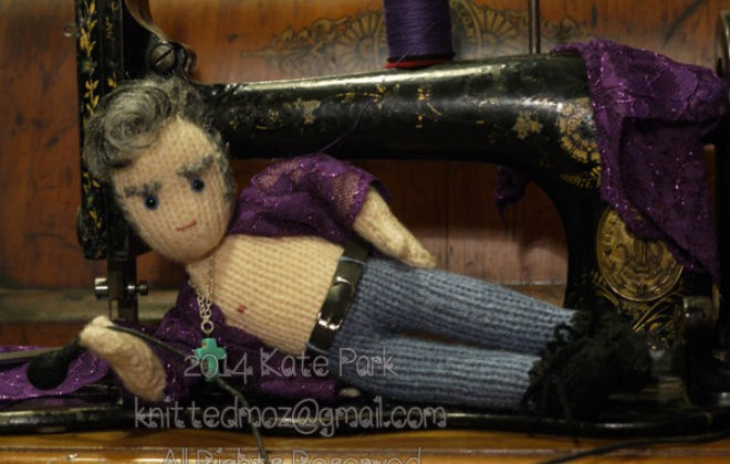 Ruin Christmas With These Knitted Morrissey Dolls