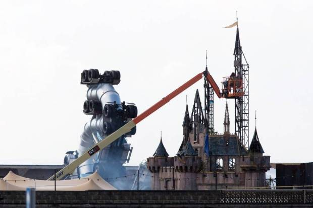 Banksy's Dismaland Anti-Theme Park