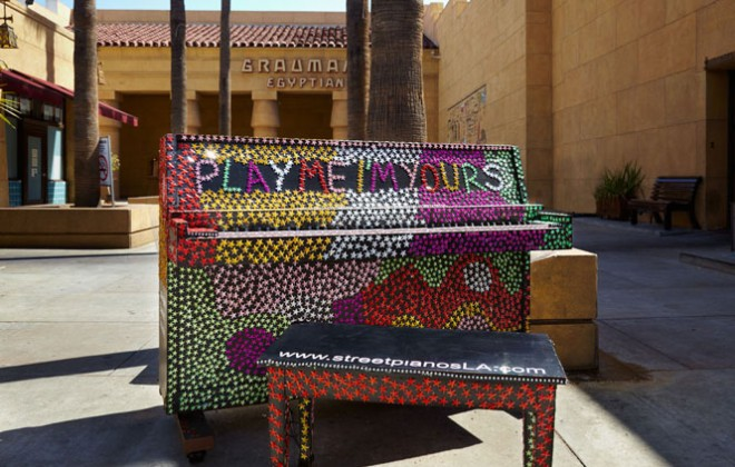 Bristol's Luke Jerram brings his pianos back to the UK