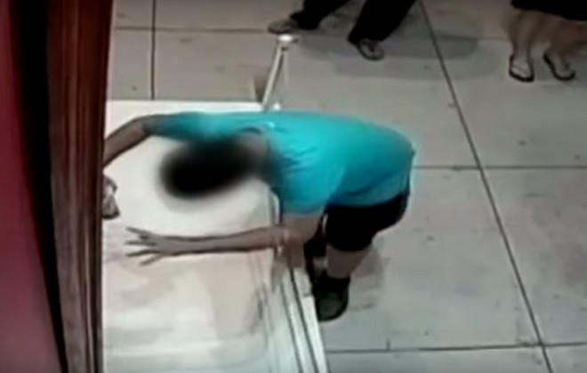 Boy Punches Hole In Million Pound Painting