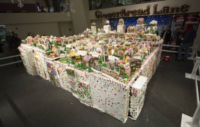 The World's Largest Gingerbread Village
