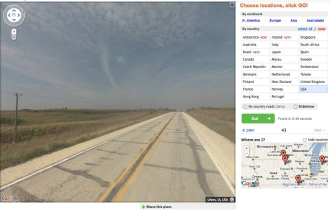 MapCrunch & Funny Google Street View Pics