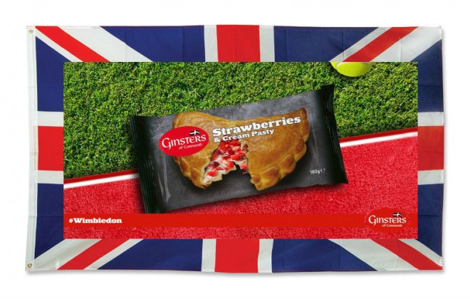 Shed A Tear Of Patriotic Pride For The Strawberries & Cream Pasty