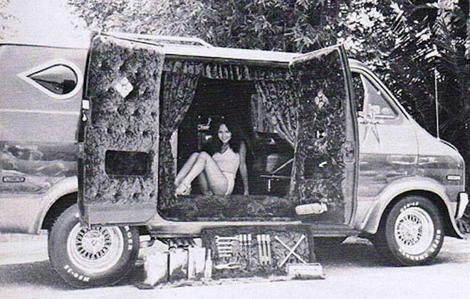 1970s Customised US Rock n Roll Vans