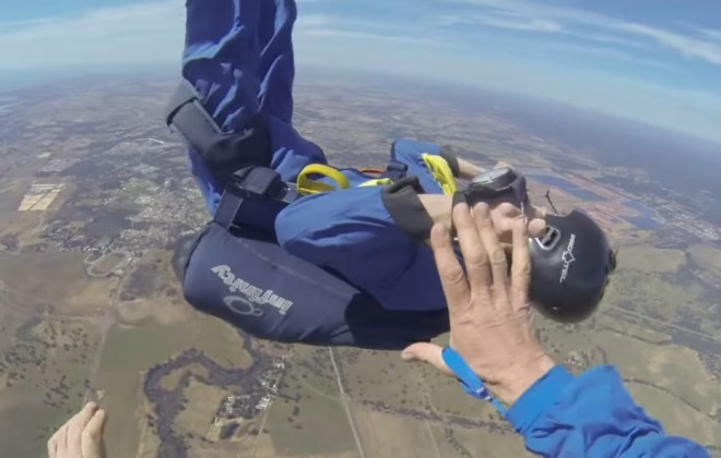 Dear Terrifying Skydive, Thanks For The Content