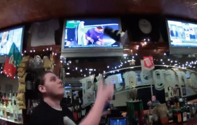 Barman Has Serious Guinness-Flipping Skills