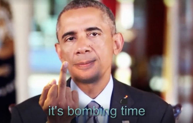 President Obama & Friends Team Up To Bomb The World