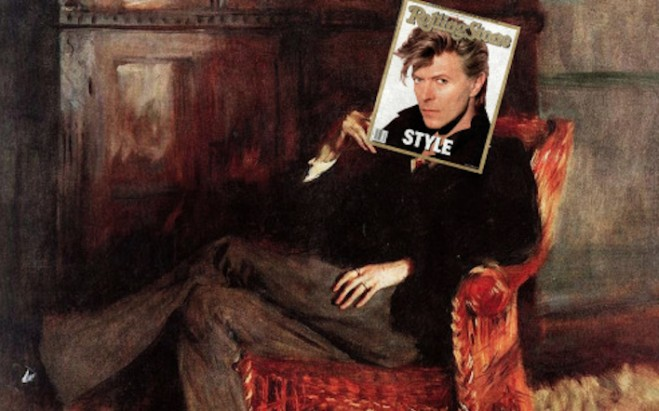 A Classical Art Tribute To David Bowie