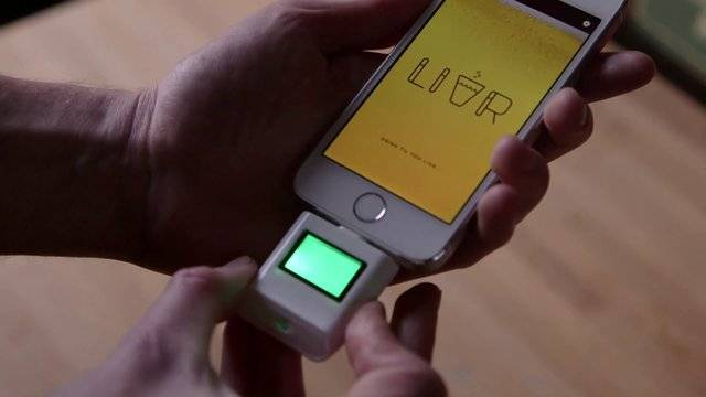 LIVR - A Social Network Only Accessible When Drunk