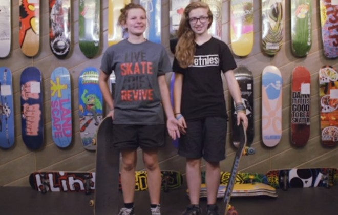 What Does It Look Like To Skate Like A Girl?