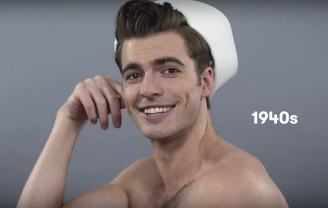 100 Years Of Male Beauty