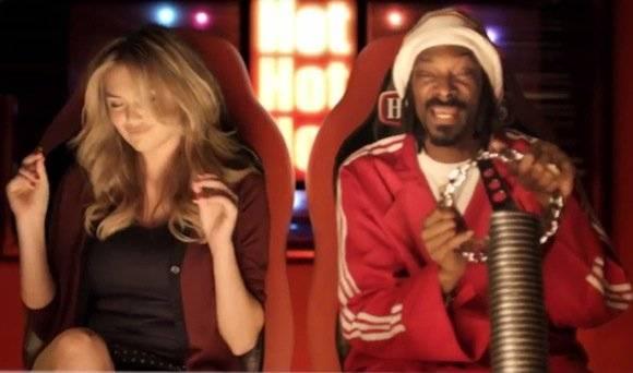 Snoop Lion & Kate Upton X Hotpockets