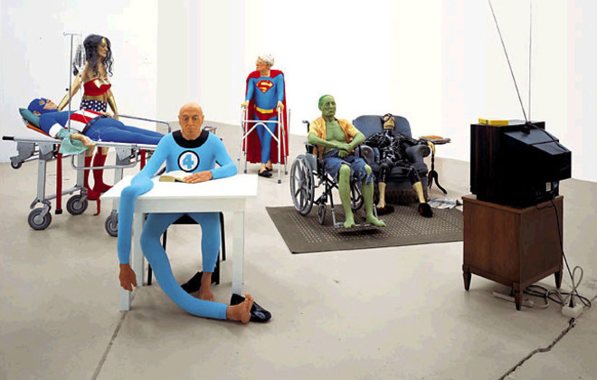Superheroes nursing home