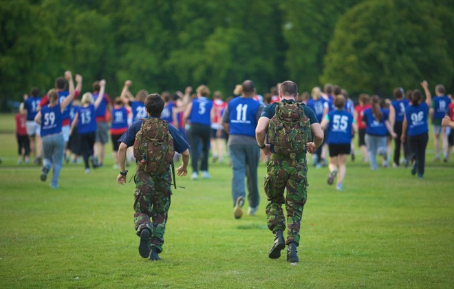 Get Fit - the Army Way!
