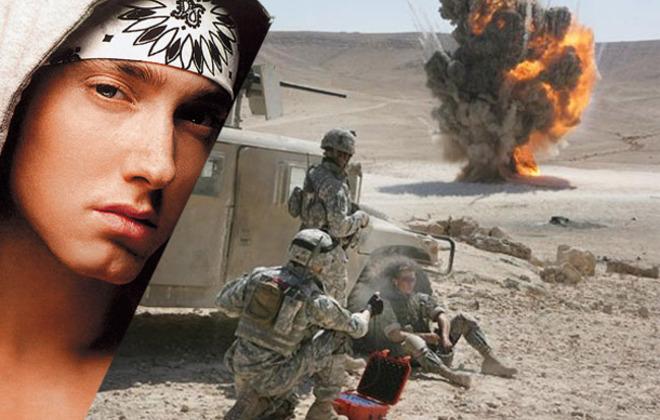 Eminem versus Iraqi Insurgency