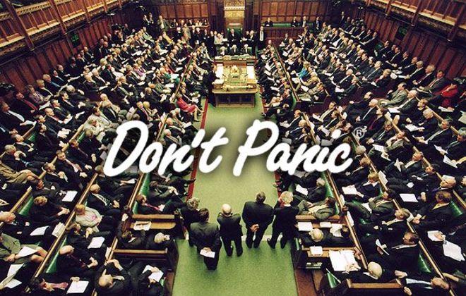 Don't Panic Politics