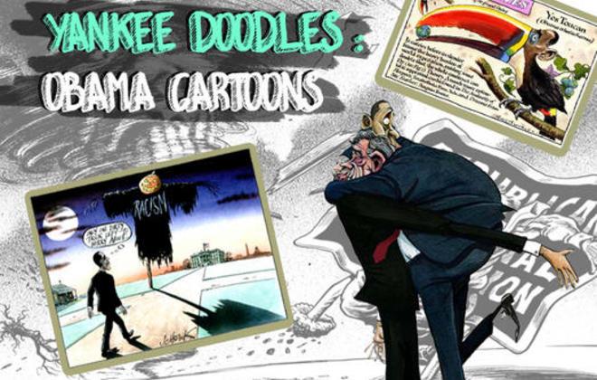 Yankee Doodles: Obama Cartoons