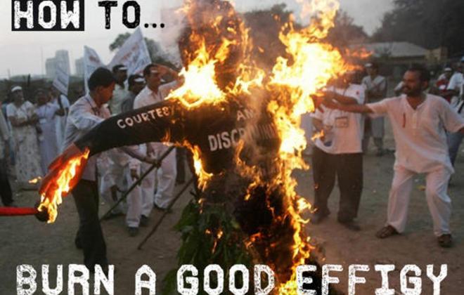How to...Burn a Good Effigy