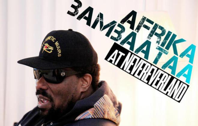 Afrika Bambaataa at Nevereverland