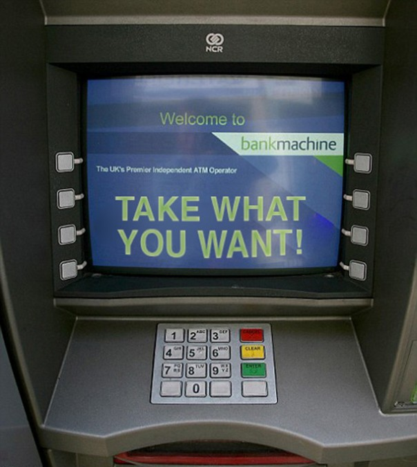 How To Break Into A Cash Machine