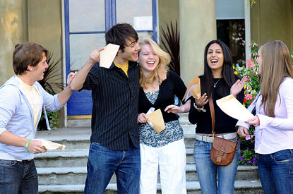 Nation celebrates as 1 in 12 gets a snazzy new A* grade!