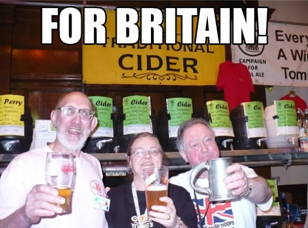 British Alcohol Consumption DECREASES