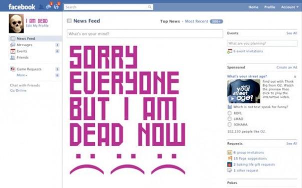 Online after-deaths