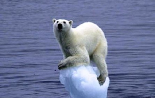 GLOBAL WARMING COULD SAVE MANKIND