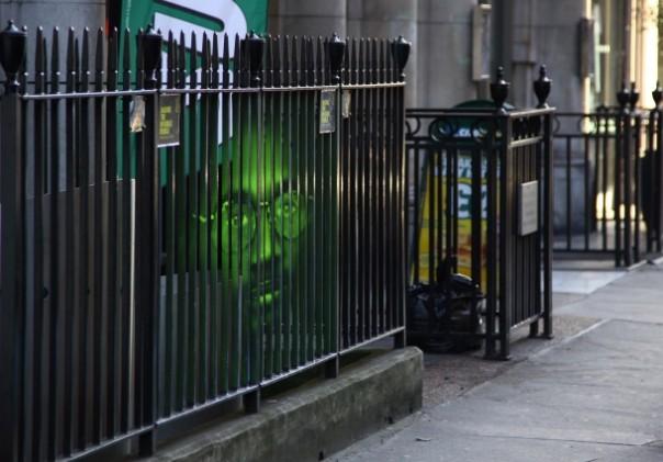 Street Art to Save an Innocent