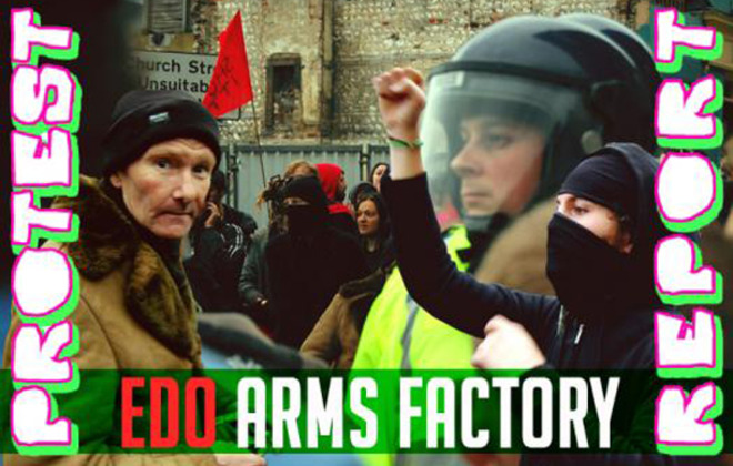 Edo Arms Factory - Protest Report