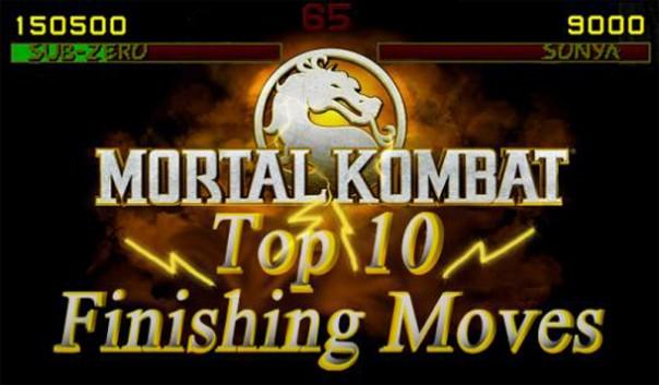 Mortal Kombat - Top 10 finishing moves