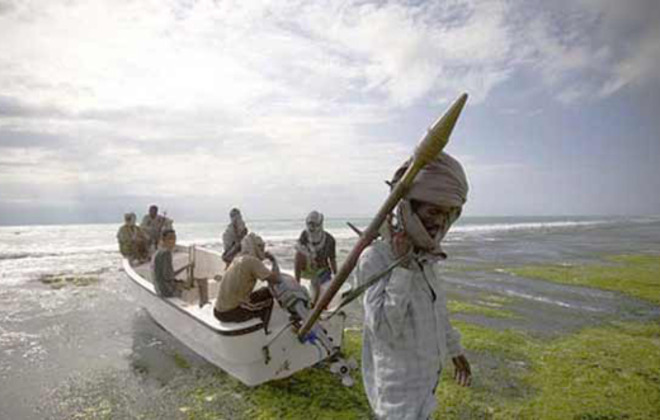 Somali Pirates rule the waves