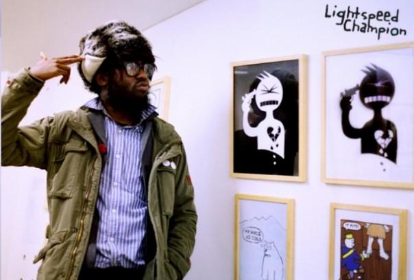 Lightspeed Champion at Brick Lane Gallery
